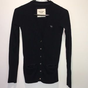 Abercrombie &Fitch navy blue sweater